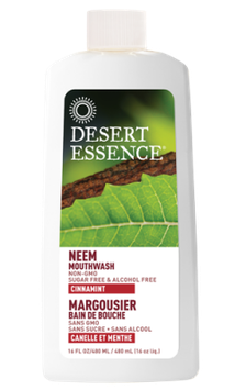 Desert Essence Neem Mouthwash - Cinnamint