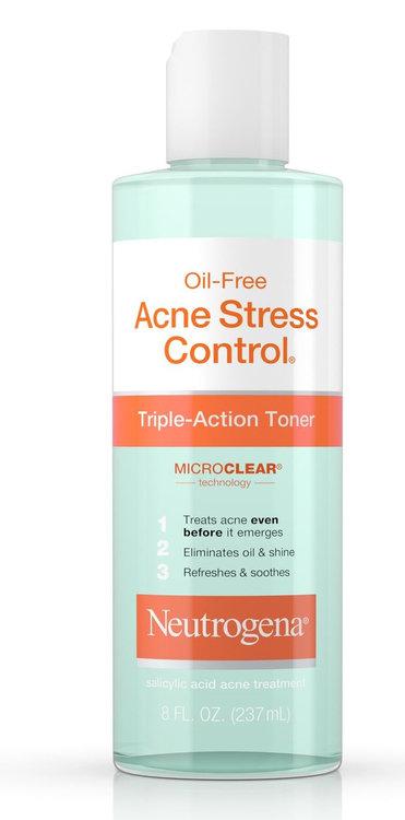 Neutrogena® Oil-Free Acne Stress Control® Triple-Action Toner