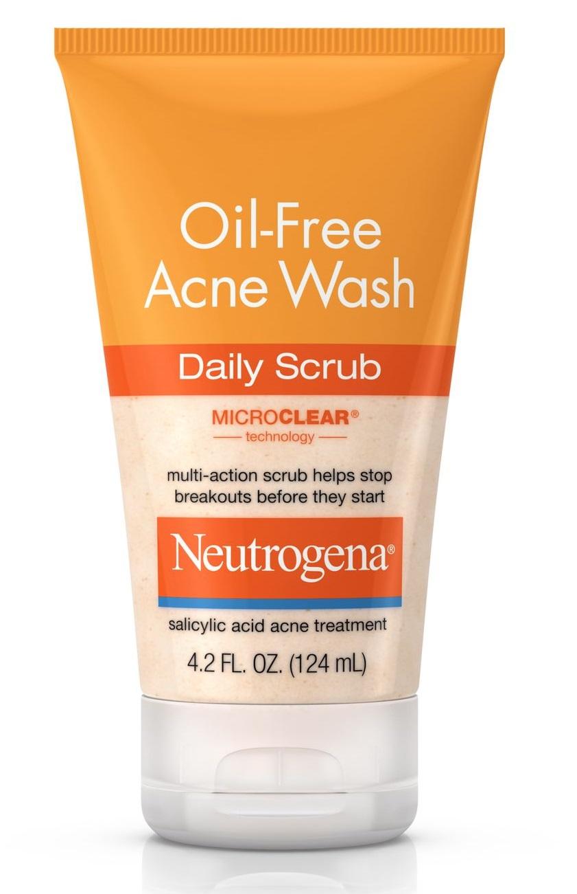 Neutrogena® Oil-Free Acne Wash Daily Scrub