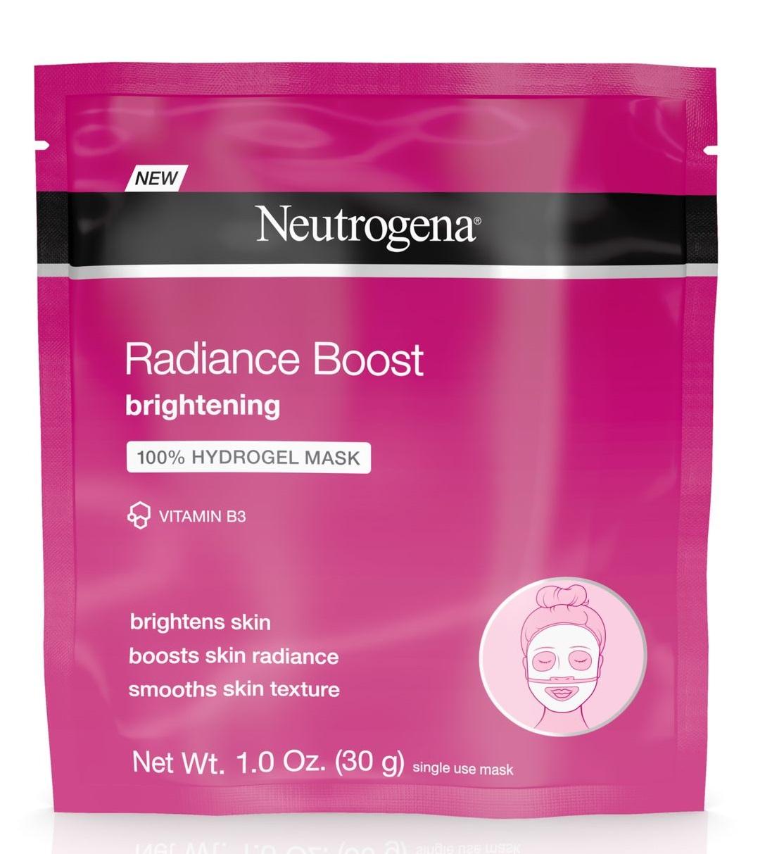 Neutrogena® Radiance Boost Brightening 100% Hydrogel Mask