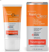 Neutrogena® Rapid Clear Acne Defense Face Lotion