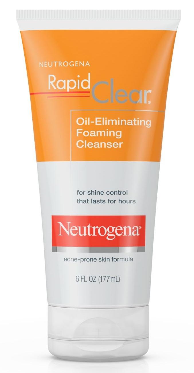 Neutrogena® Rapid Clear Oil-Eliminating Foaming Cleanser