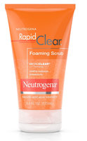 Neutrogena® Rapid Clear Foaming Scrub