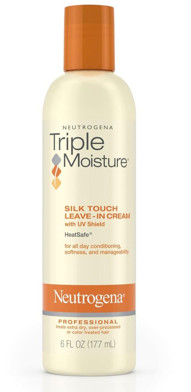 Neutrogena® Triple Moisture Silk Touch Leave-In Cream