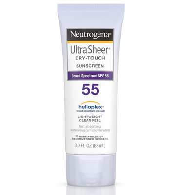 Neutrogena® Ultra Sheer® Dry-Touch Sunscreen Broad Spectrum SPF 55