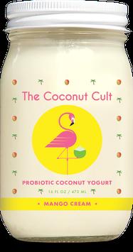 The Coconut Cult Probiotic Coconut Yogurts Mango Cream