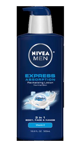 Nivea Men Express Absorption Lotion