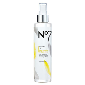 No7 Beautiful Skin Pampering Dry Oil Body Spray