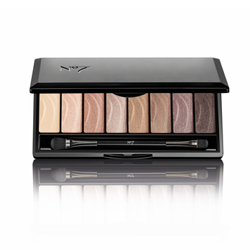 No7 Stay Perfect Eye Shadow Palette Nude