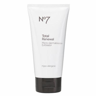 No7 Total Renewal Micro-Dermabrasion Facial Exfoliator