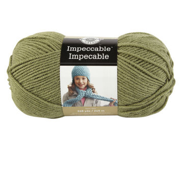 Impeccable Yarn, 4.5 oz in Green by Loops & Threads