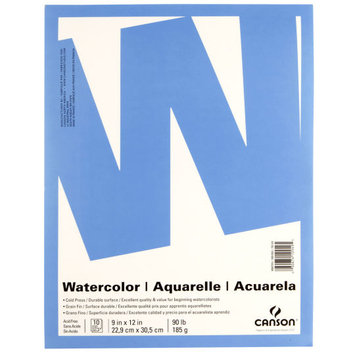 Value Watercolor Pad by Canson