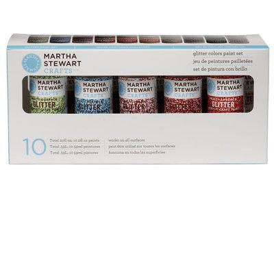 Martha Stewart Glitter Acrylic Craft Paint Set