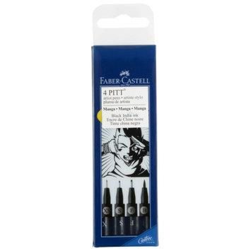 PITT Artist Pens, Manga 4 Pack by Faber-Castell