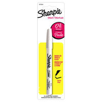 Oil-Based Paint Marker, Extra Fine Point, 2 in White by Sharpie