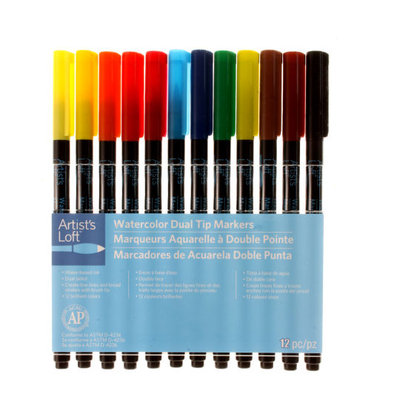 Artists Loft Watercolor Markers by Artist's Loft