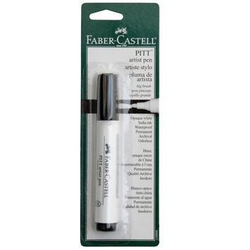PITT Big Brush Artist Pen, White by Faber-Castell