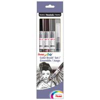 Pentel Arts Water-Based Color Brush Pens