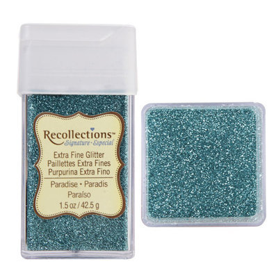 Recollections Signature Extra Fine Glitter, 1.5 oz. in Turquoise/Teal