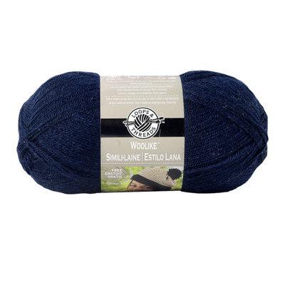 Woolike Yarn Yarn, 3.5 oz in Navy Blue by Loops & Threads