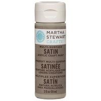 Martha Stewart Satin Acrylic Craft Paint 2 Ounces-Gray Wolf