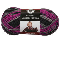 Charisma Yarn, 3.5 oz in Black Raspberry by Loops & Threads