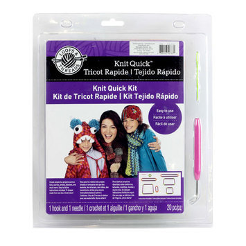 Knit Quick Kit by Loops & Threads
