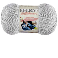 Spinrite Softee Baby Solid Yarn-Grey Marl