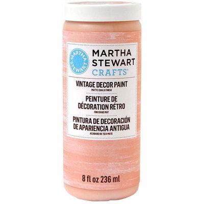 Martha Stewart Crafts Paints Vintage Decor 8 oz. Cantaloupe Matte Chalk Finish Paint 33539