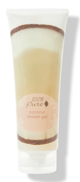 100% Pure Coconut Shower Gel