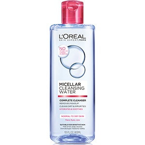 L'Oréal Paris Micellar Cleansing Water Complete Cleanser - Normal To Dry Skin
