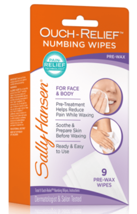 Sally Hansen® Ouch-Relief Numbing Wipes