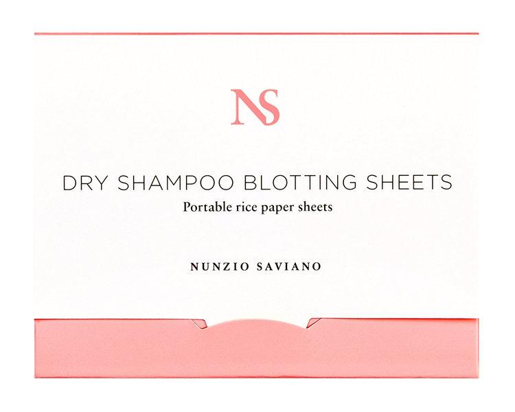 Slide: Nunzio Saviano Dry Shampoo Blotting Sheets