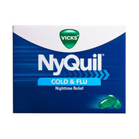 NyQuil™ Cold & Flu Nighttime Relief LiquiCaps™