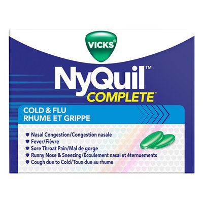 NyQuil™ Complete Cold and Flu Caplets