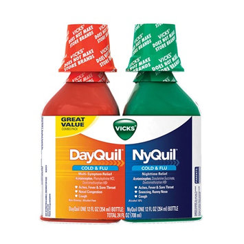 DayQuil™/NyQuil™ Cold & Flu Relief Liquid Co-Pack