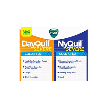 DayQuil™/NyQuil™ SEVERE Cold & Flu Caplets Co-Pack
