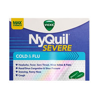 NyQuil™ SEVERE Cold & Flu Caplets