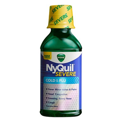 NyQuil™ SEVERE Cold & Flu Relief Liquid