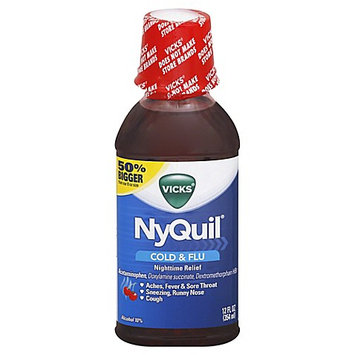 NyQuil™ Soothing Cherry Cold & Flu Nighttime Relief Liquid