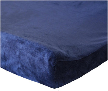 Oliver B Navy Minky Changing Pad Cover