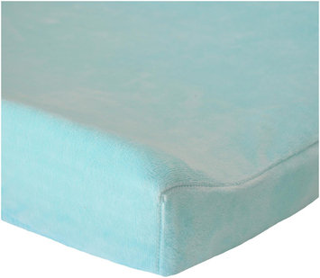Oliver B Sea Green Minky Changing Pad Cover