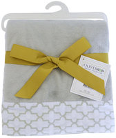 Oliver B Minky Stroller Blanket in Dove Grey