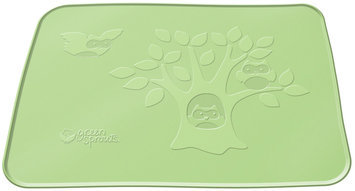 green sprouts by i play Silicone Placemat - Green