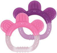 green sprouts by i play Sili Paw Teether - Girl - 2 Pk