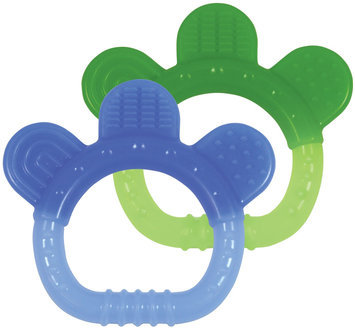 green sprouts by i play Sili Paw Teether - Boy - 2 Pk