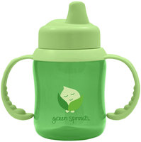 i Play - Green Sprouts Non-Spill Sippy Cup for 6-12 Months Green - 6 oz.