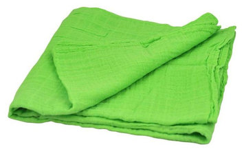 i play Brights Organic Muslin Swaddle Blanket- Light Lime- One Size