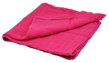 i play Brights Organic Muslin Swaddle Blanket- Fuschia- One Size