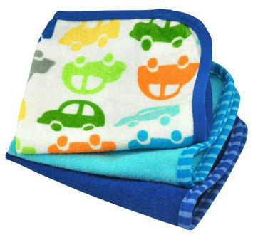 green sprouts by i play. Brights Organic Terry Washcloth Set - Royal - 3 ct